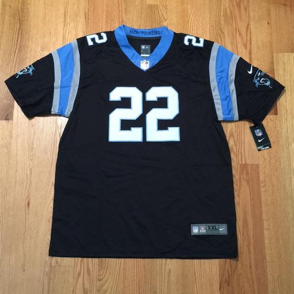 low priced d63e3 a951b Carolina Panthers #22 McCaffrey Jersey